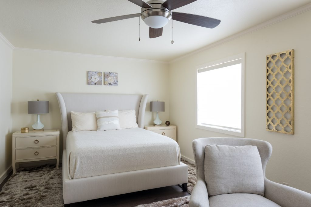 neutral bedroom