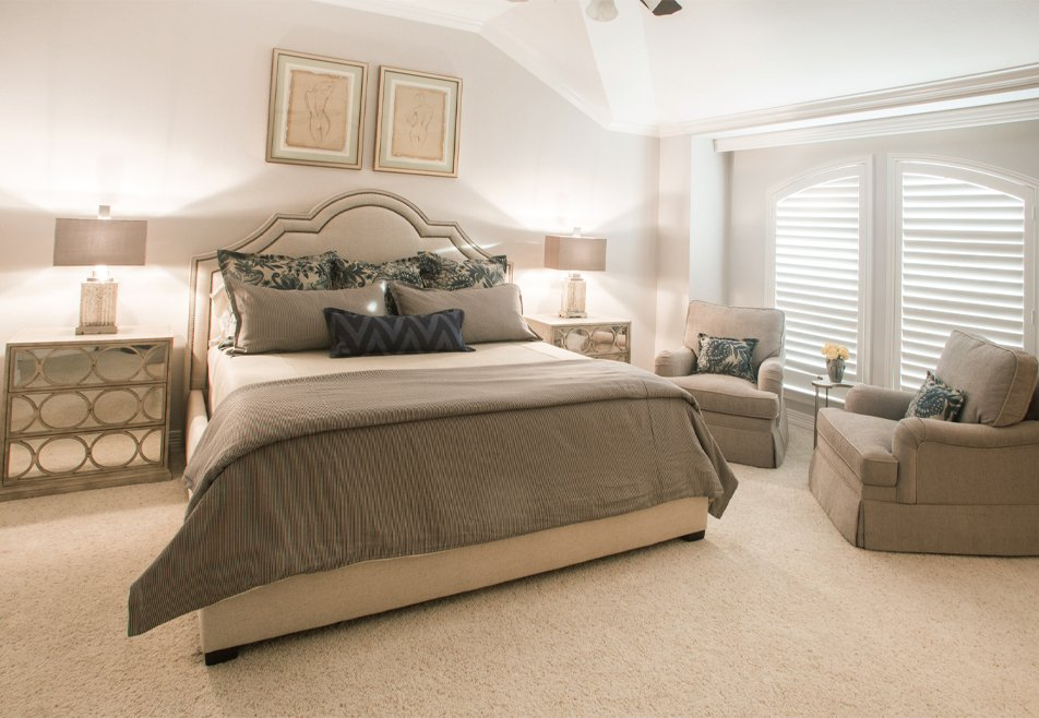 neutral master bedroom design