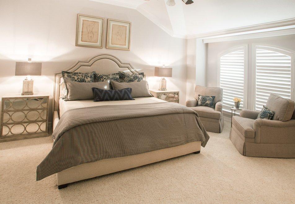 neutral master bedroom design