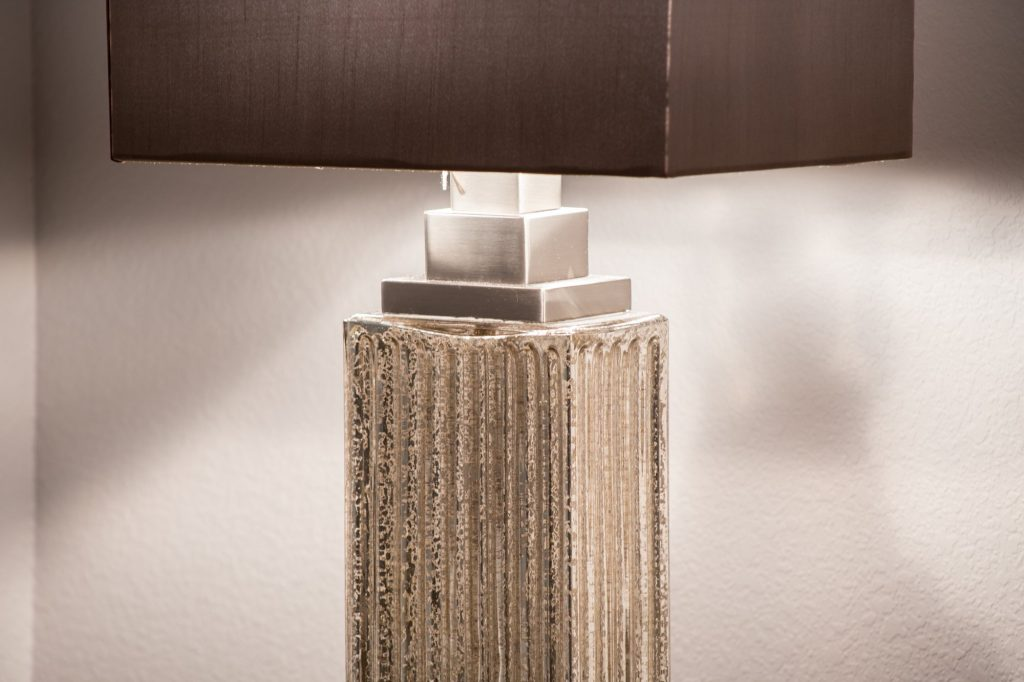 metallic lamp