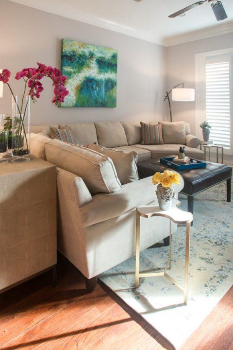 sectional living room design
