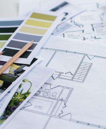 interior designer desk details